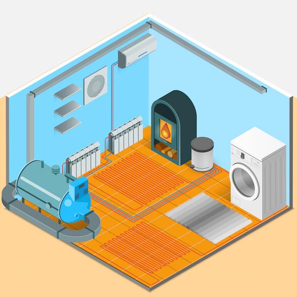 Principales sistemas de calefacción